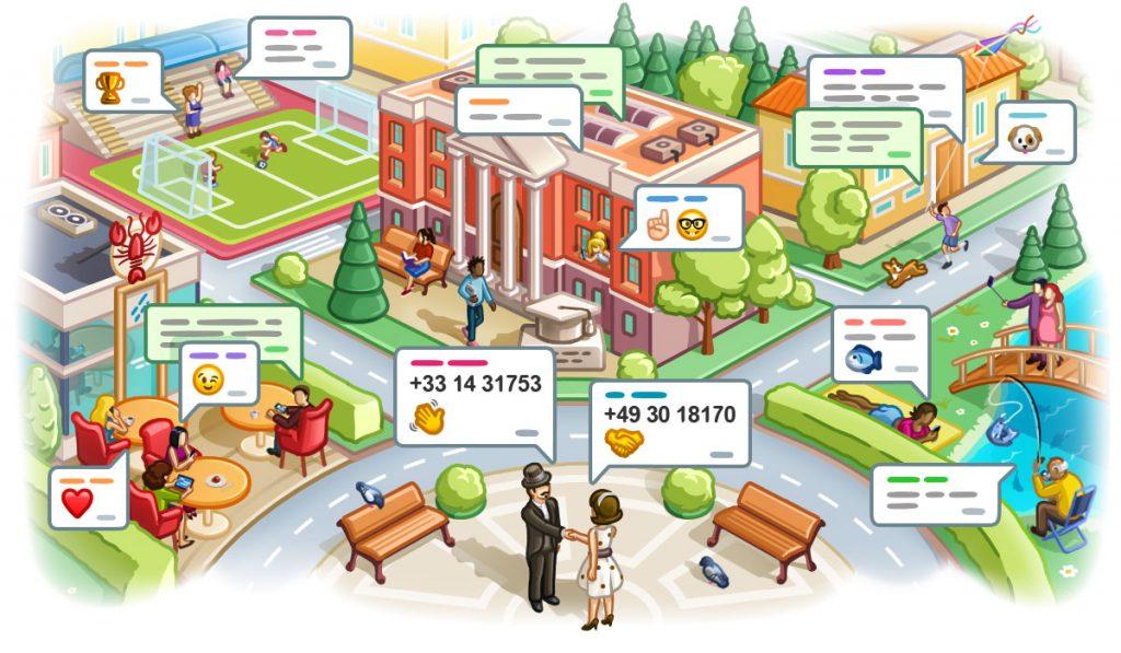 Image 8 Fitur-Fitur Baru Telegram: Chat Berdasarkan Lokasi, Tambahkan Kontak Tanpa Nomor Telepon, dll!
