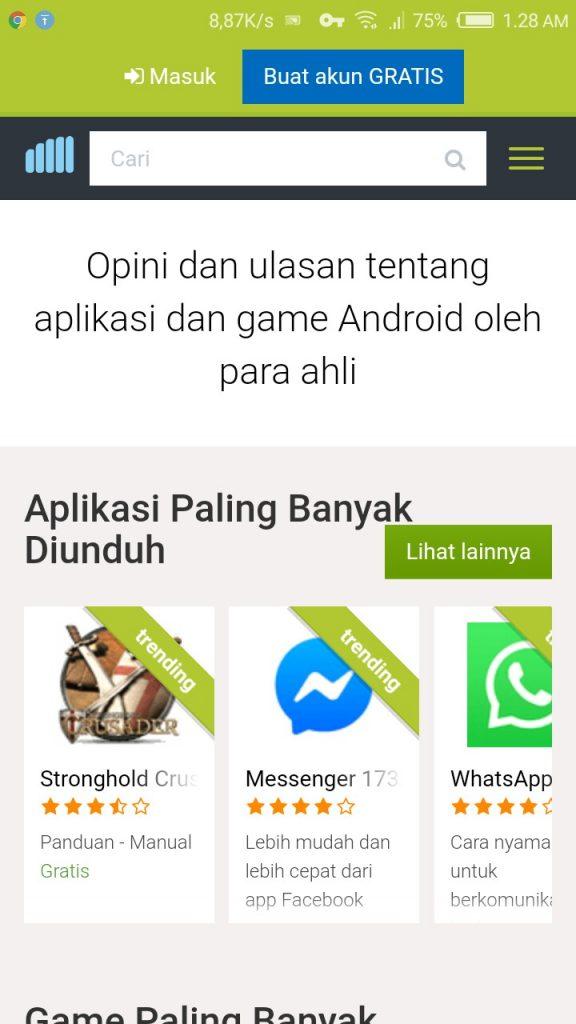 Image 1 Cara Menambahkan Pintasan Situs di Android Android