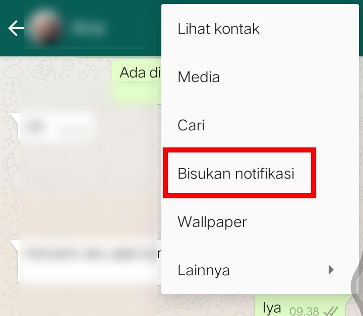 Image 1 Cara Membisukan Chat Individu, Grup & Status di WhatsApp