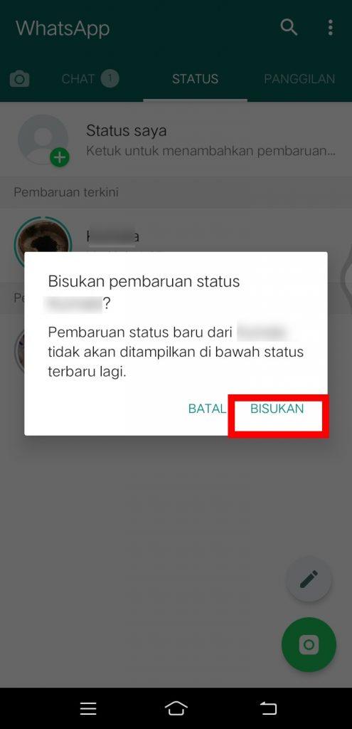 Image 3 Cara Membisukan Chat Individu, Grup & Status di WhatsApp