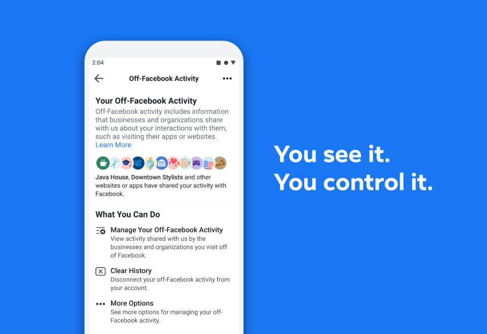 Image 1 Mengontrol Data yang Dibagikan Aplikasi dan Situs dengan Facebook