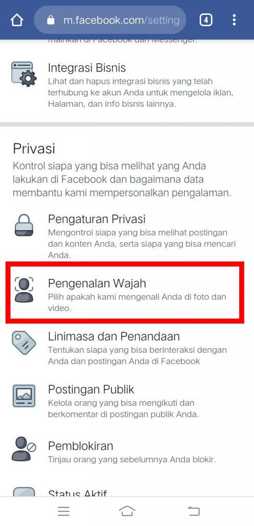 Image 3 Cara Mencegah Facebook Mengidentifikasi Wajah Anda