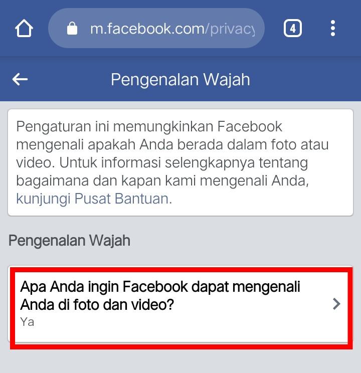Image 4 Cara Mencegah Facebook Mengidentifikasi Wajah Anda