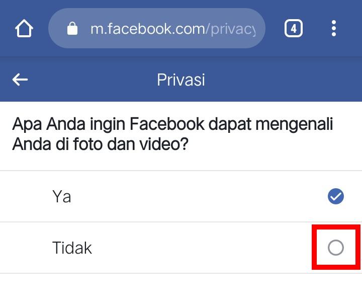 Image 5 Cara Mencegah Facebook Mengidentifikasi Wajah Anda