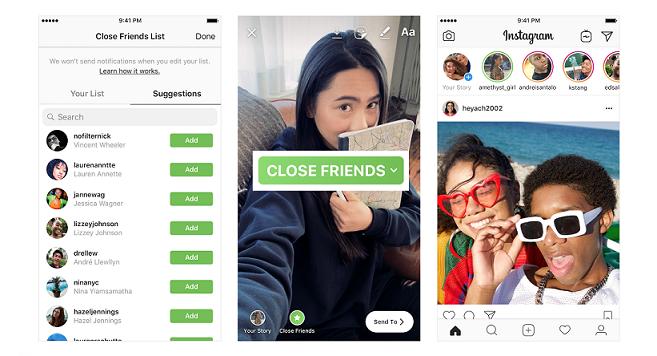 Image 2 Tips Instagram: Menambahkan Pengguna ke Daftar Teman Dekat