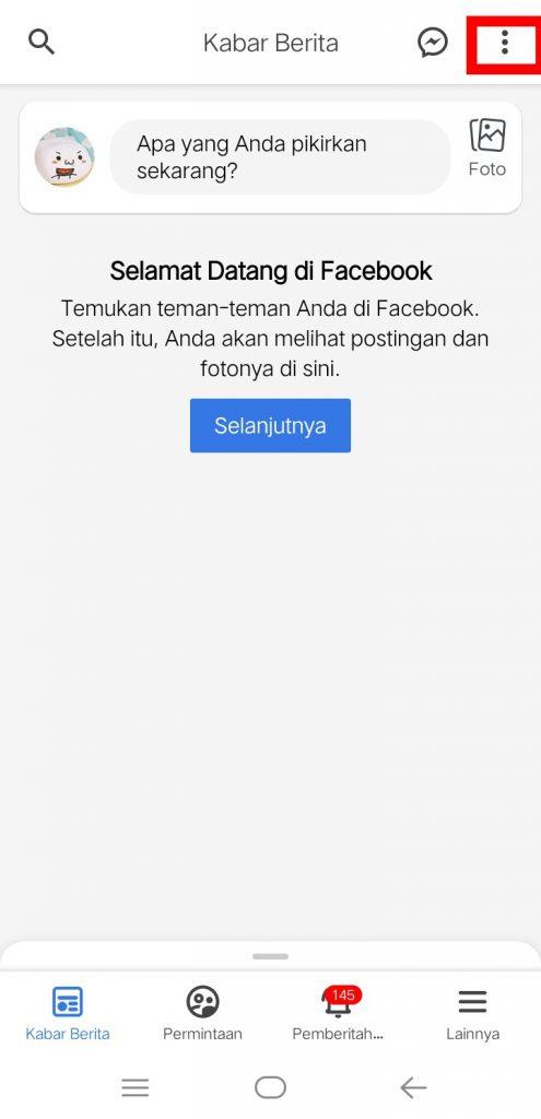 Image 3 Cara Menyembunyikan Umpan Cerita Facebook di Android