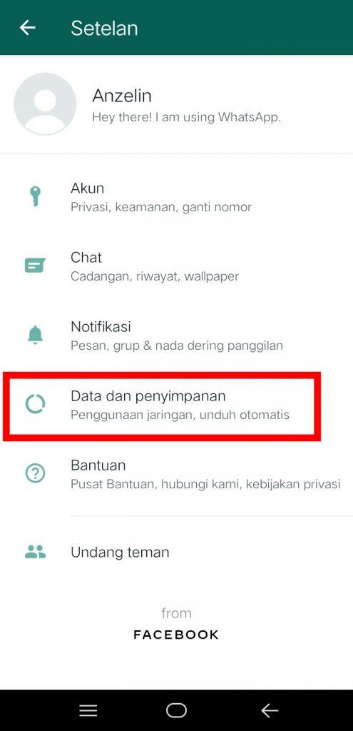 Image 2 Menghentikan Unduh Gambar Otomatis di WhatsApp