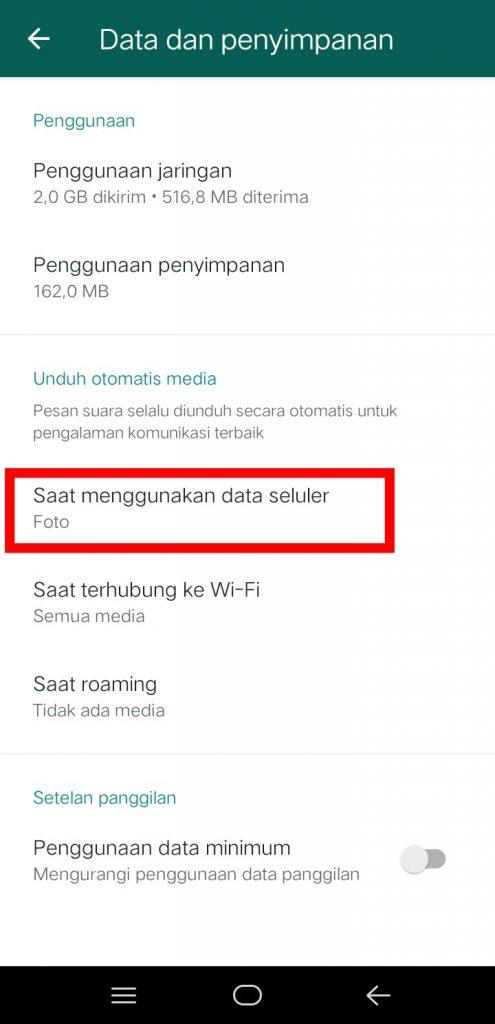Image 3 Menghentikan Unduh Gambar Otomatis di WhatsApp