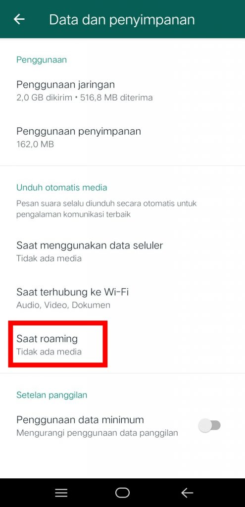 Image 6 Menghentikan Unduh Gambar Otomatis di WhatsApp