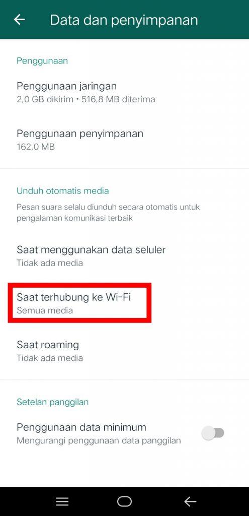 Image 10 Menghentikan Unduh Gambar Otomatis di WhatsApp