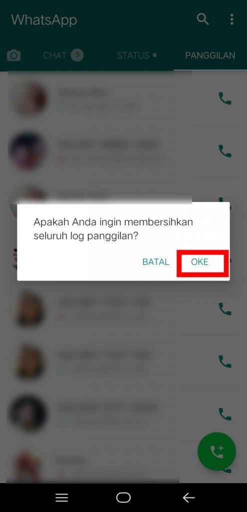 Image 4 Menghapus Riwayat Panggilan WhatsApp di Android