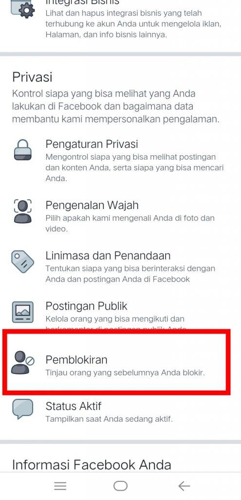 Image 7 Menyembunyikan Media Sosial Anda dari Perundung di Android