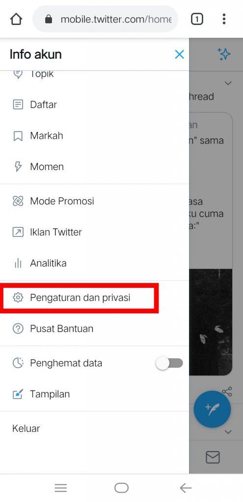 Image 9 Menyembunyikan Media Sosial Anda dari Perundung di Android