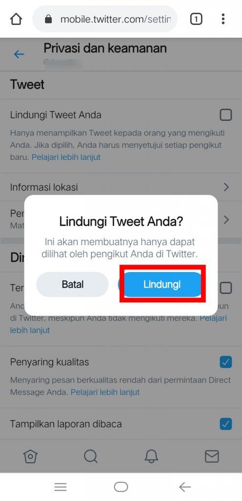 Image 13 Menyembunyikan Media Sosial Anda dari Perundung di Android