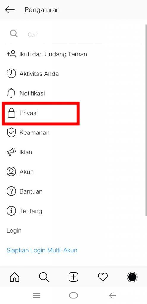 Image 16 Menyembunyikan Media Sosial Anda dari Perundung di Android