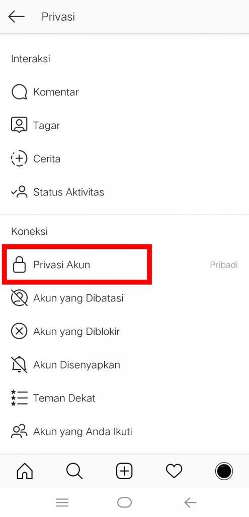 Image 17 Menyembunyikan Media Sosial Anda dari Perundung di Android