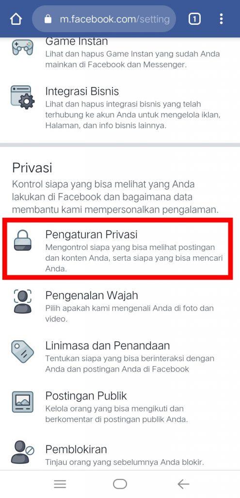 Image 21 Menyembunyikan Media Sosial Anda dari Perundung di Android