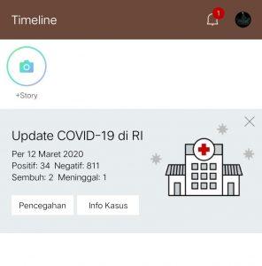 Image 1 Update Virus Corona: Lindungi Diri dengan Aplikasi Virus Corona Terbaik di Android