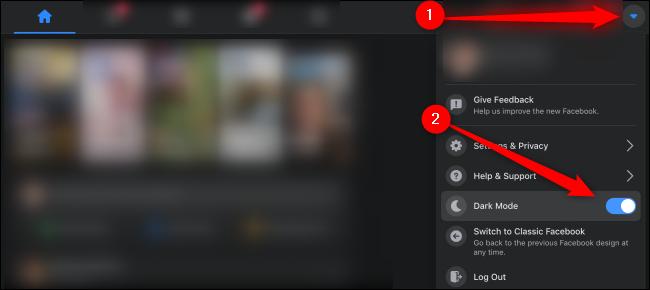 Image 4 Update Baru Facebook: Cara Menggunakan Mode Gelap di Android