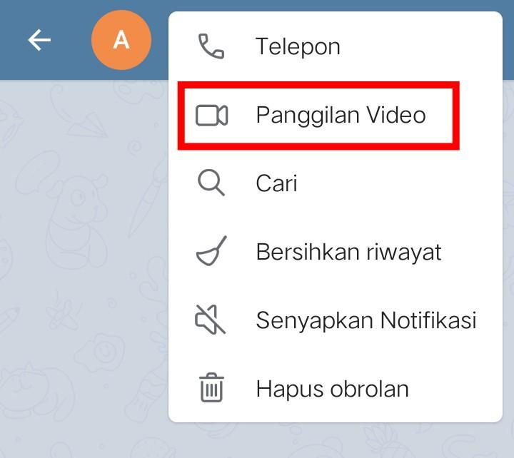 Image 2 Telegram Kini Mendukung Panggilan Video di Android