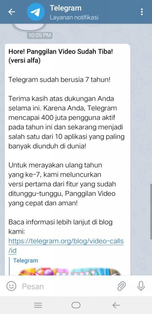 Image 4 Telegram Kini Mendukung Panggilan Video di Android