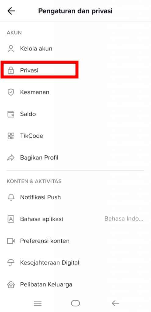 Image 3 Cara Melihat Siapa yang Melihat Profil Anda di TikTok