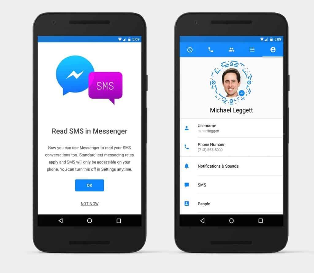 Cara Mematikan Fitur SMS di Facebook Messenger