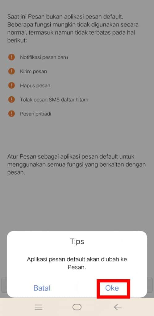 Image 7 Cara Mematikan Fitur SMS di Facebook Messenger