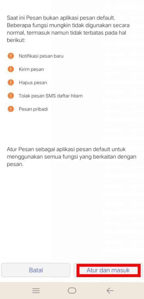 Image 6 Cara Mematikan Fitur SMS di Facebook Messenger