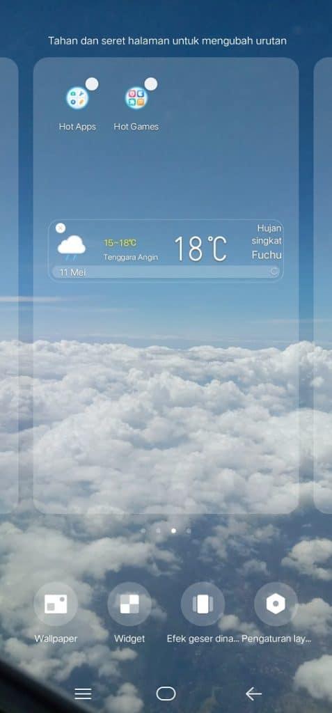 Image 4 Cara Menambahkan Widget Jam dan Cuaca ke Layar Awal di Android