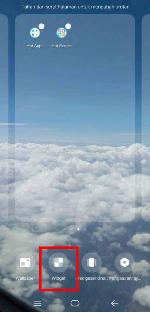 Image 2 Cara Menambahkan Widget Jam dan Cuaca ke Layar Awal di Android