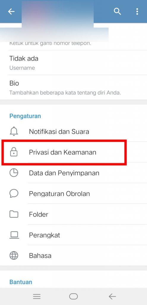 Image 2 Cara Menyembunyikan Nomor Ponsel Anda di Telegram