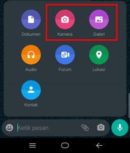 Image 1 Cara Mengirim Foto & Video yang Menghilang Otomatis di WhatsApp