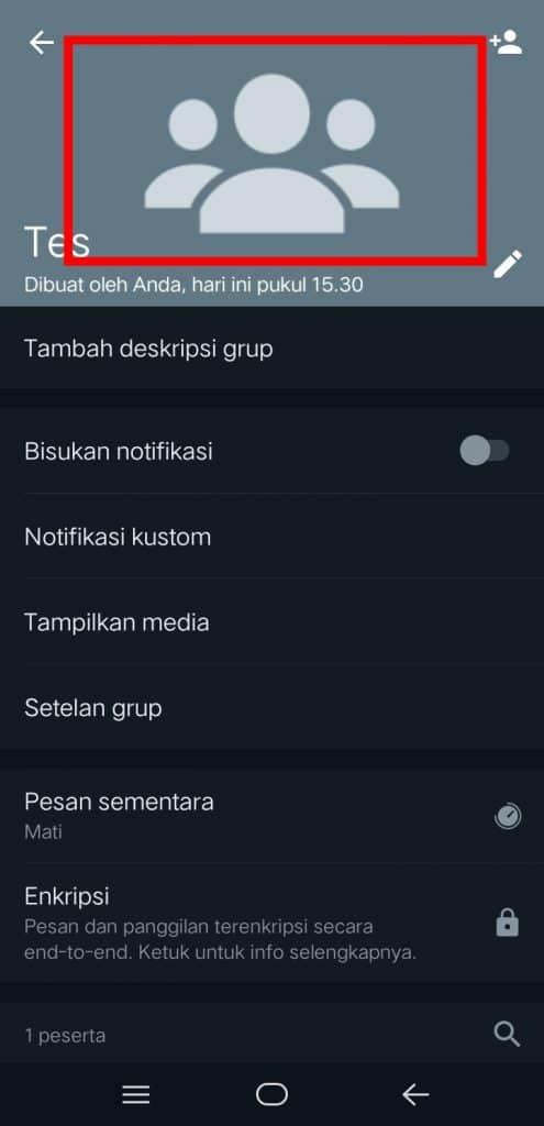 Image 3 Cara Mengganti Ikon Grup WhatsApp di Android