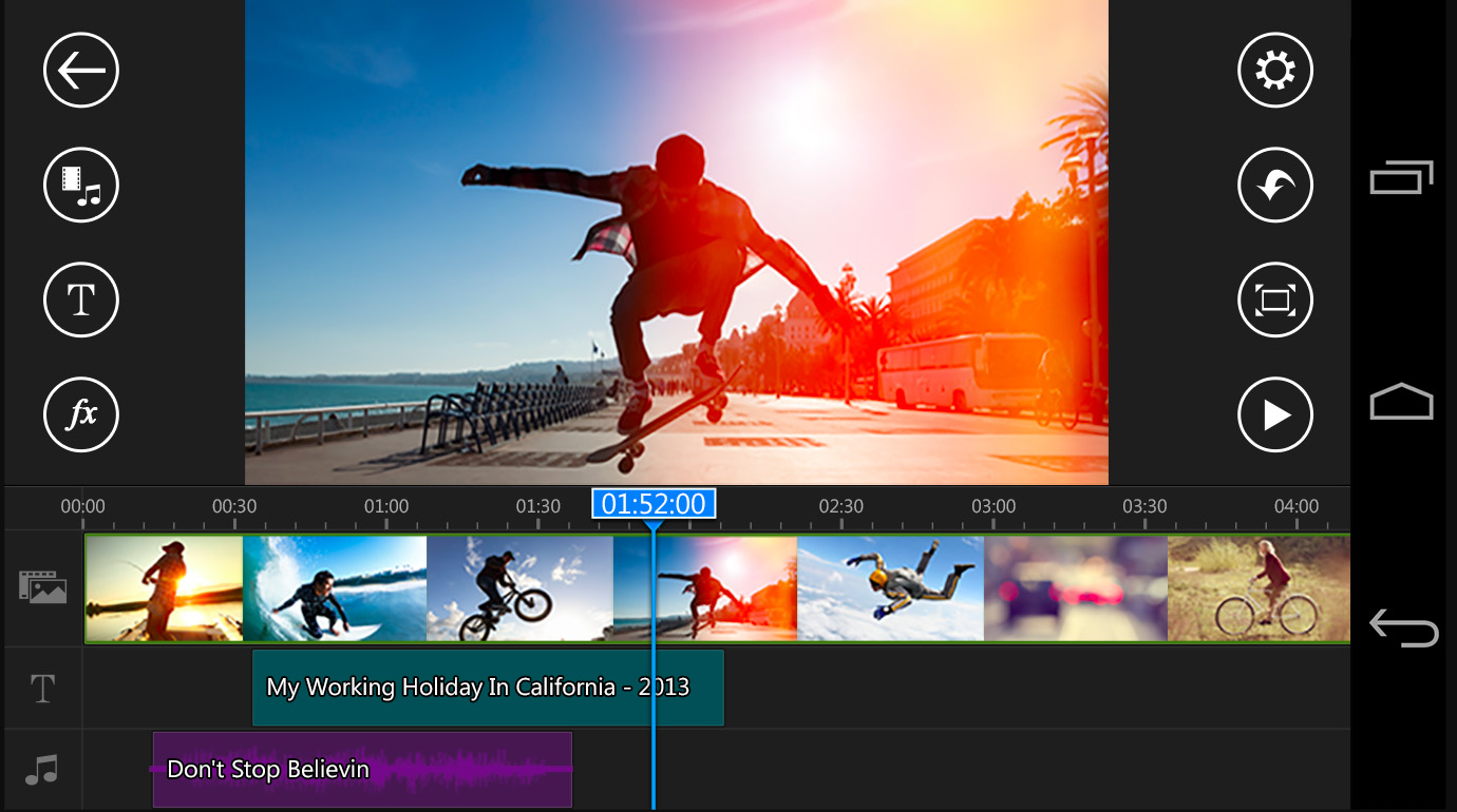 image de 5 applications Android similaires à iMovie 2