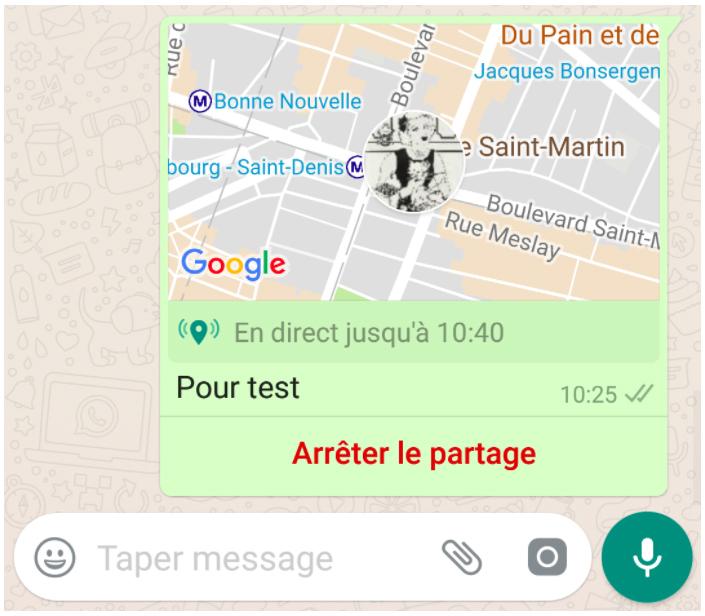 image de Comment envoyer votre localisation sur WhatsApp 4