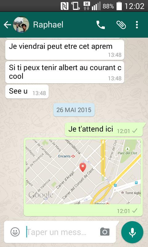 image de Comment envoyer votre localisation sur WhatsApp 5