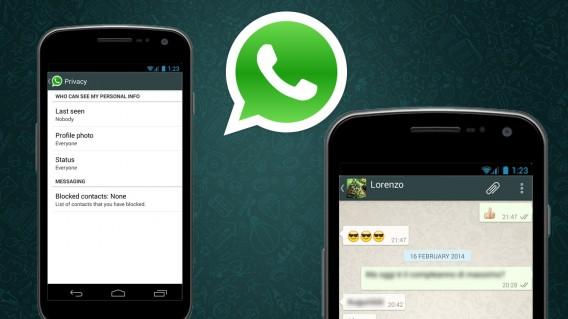 image de Comment cacher l'heure de connexion dans WhatsApp 2
