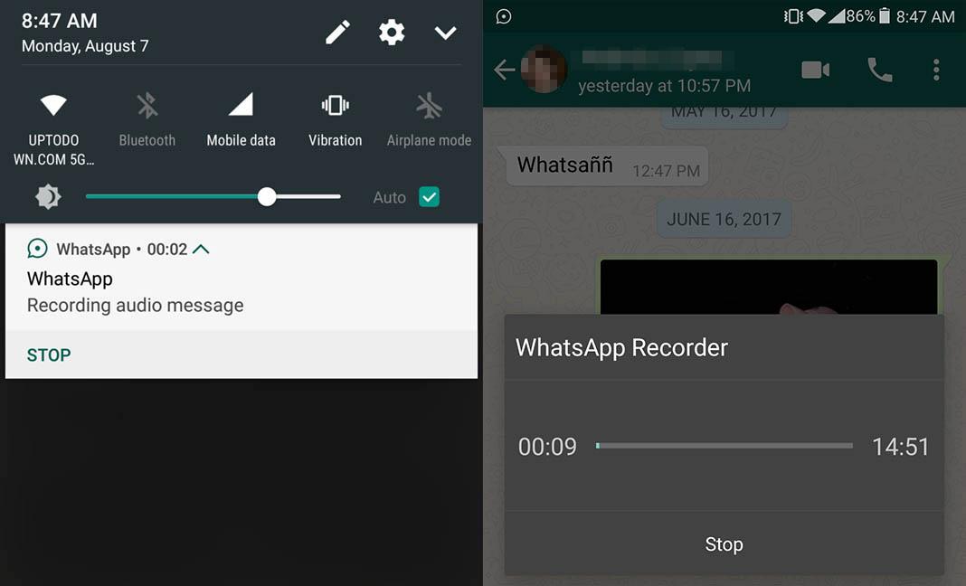 image de image de Comment enregistrer des messages vocaux WhatsApp sans appuyer sur le bouton micro 4