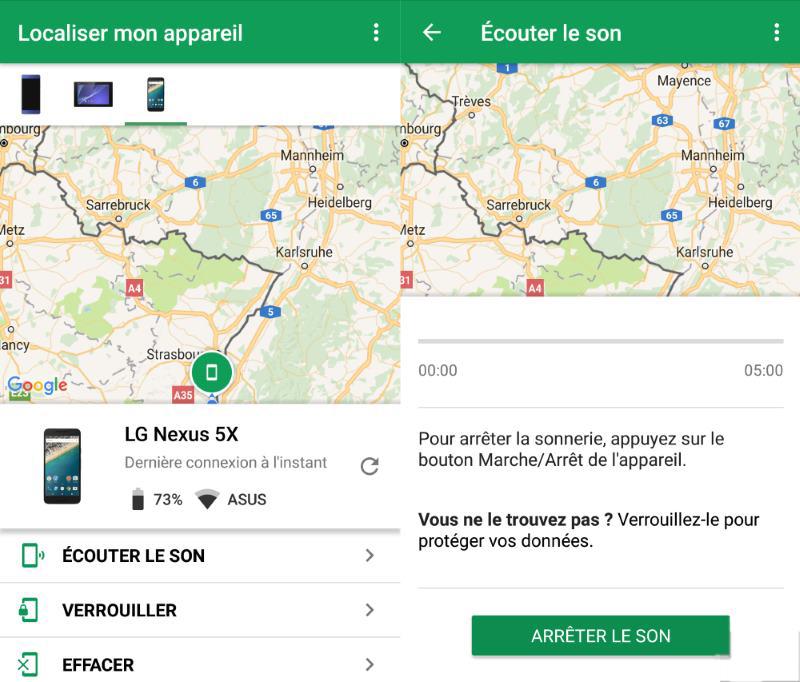image de Comment supprimer des données de votre Android perdu ou volé 4