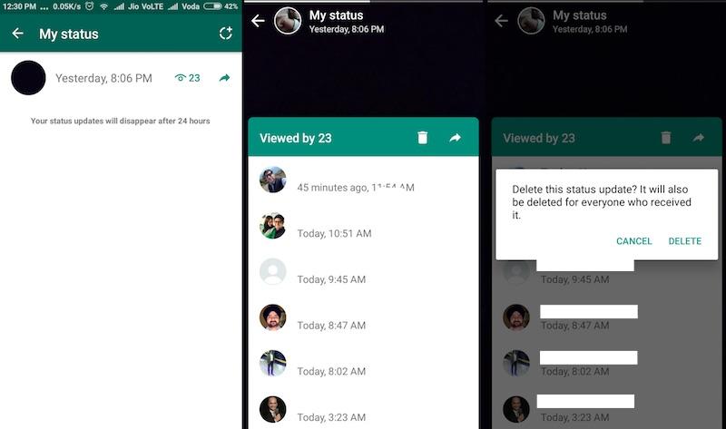 image de Comment créer, modifier et supprimer les mises à jour de statut WhatsApp 3