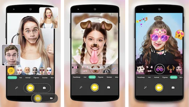 image de Voilà 6 applications Android avec des filtres FaceTracking en temps réel 2
