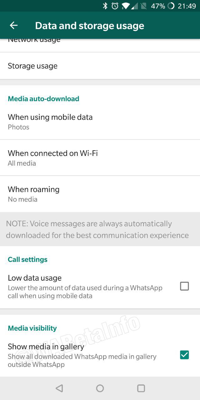 image de Comment masquer les images WhatsApp de votre galerie Android 3