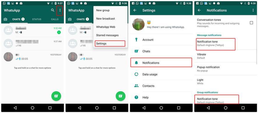 image de Comment changer les paramètres de notification WhatsApp sur Android 2