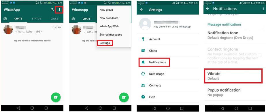 image de Comment changer les paramètres de notification WhatsApp sur Android 3