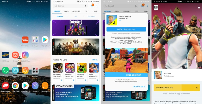 image de Fortnite arrive sur Android 2
