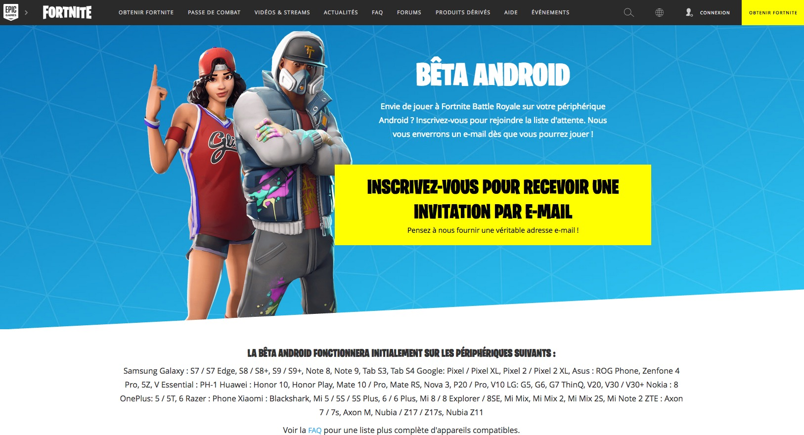 image de Fortnite arrive sur Android 4