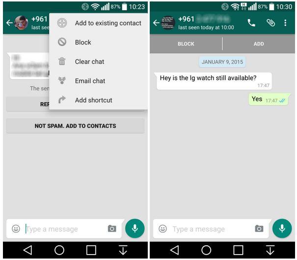 image de Comment bloquer des contacts sur WhatsApp sans qu'ils le sachent 2