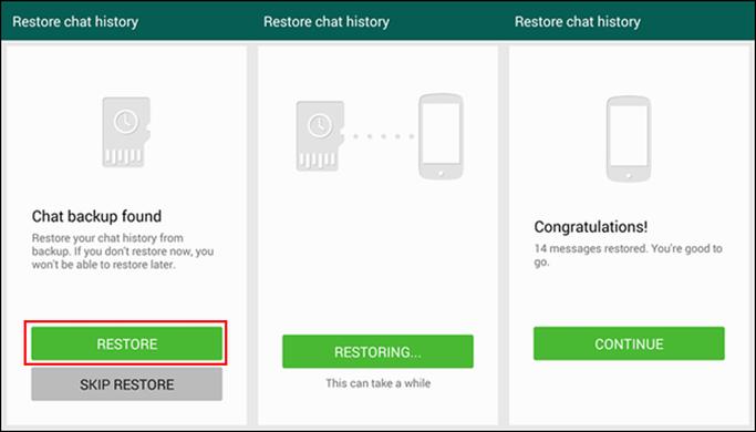 image de Comment transférer d'anciens messages WhatsApp sur votre nouveau smartphone Android 3