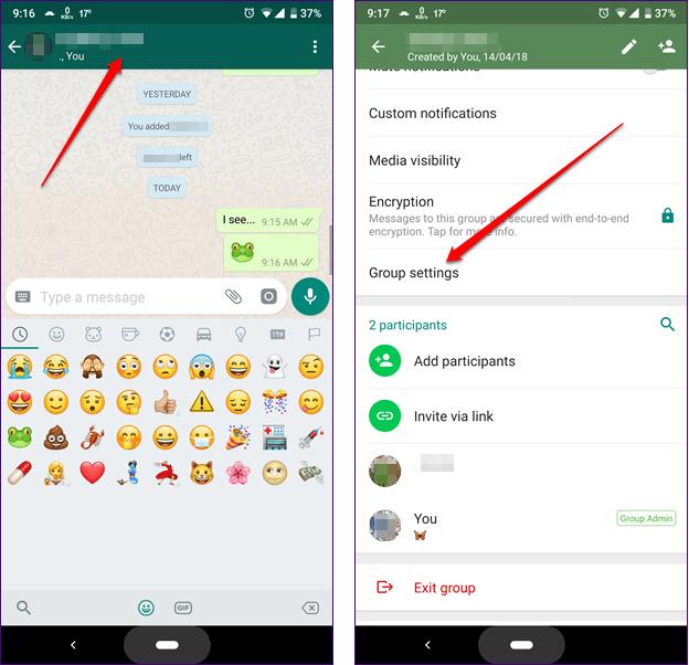 image de Comment créer et gérer des groupes restreints dans WhatsApp 3